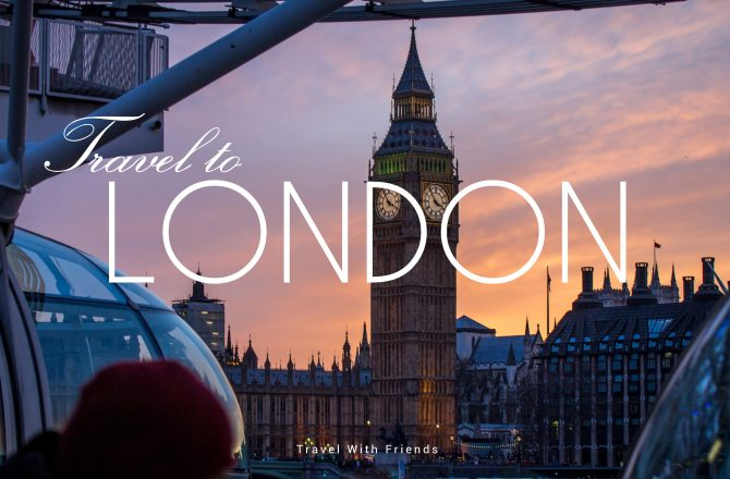 Thinking back my first week in London